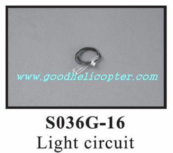 SYMA-S036-S036G helicopter parts light wire