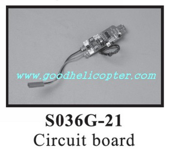 SYMA-S036-S036G helicopter parts pcb board