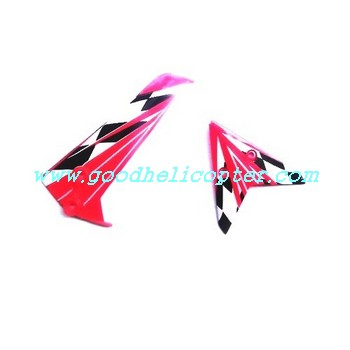 SYMA-S107N helicopter parts tail decoration set (red color)