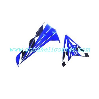 SYMA-S107N helicopter parts tail decoration set (blue color)