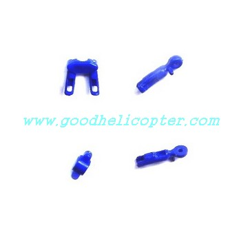 SYMA-S107N helicopter parts fixed set for tail decoration set and tail support pipe (blue color)