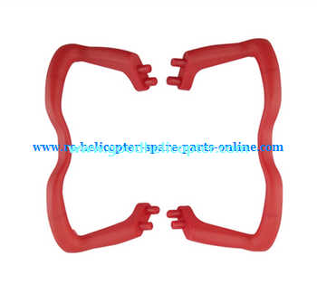 SYMA-X5-X5A-X5C Quad Copter parts undercarriage [Red]