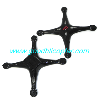 SYMA-X5S-X5SC-X5SW Quad Copter parts Upper + Lower body cover (X5SW black)