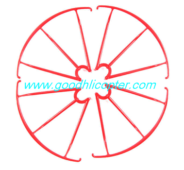 SYMA-X5S-X5SC-X5SW Quad Copter parts Protection cover (red color)