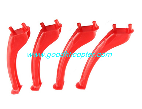 SYMA-X5S-X5SC-X5SW Quad Copter parts Undercarriage landing skid (red color)