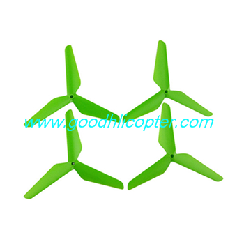 SYMA-X5S-X5SC-X5SW Quad Copter parts 3 leaves blades (green color)