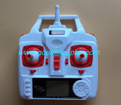 SYMA-X5S-X5SC-X5SW Quad Copter parts Remote controller Transmitter (white color)