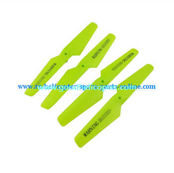 SYMA-X5S-X5SC-X5SW Quad Copter parts Main Blades propellers (green color)