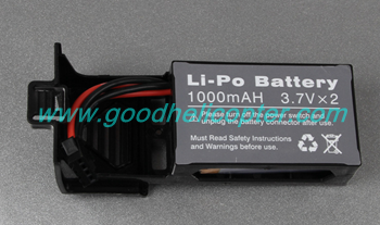 u818s u818sw quad copter Battery with cover box (black color)