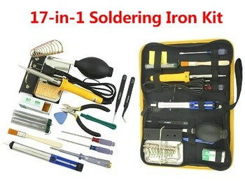 17 in 1 soldering iron set (220V-250V)