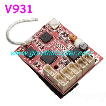 wltoys-v931-AS350-XK-K123 helicopter parts Receiver PCB board (V931)