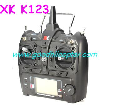 wltoys-v931-AS350-XK-K123 helicopter parts Remote controller Transmitter (XK K123)
