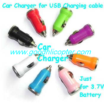 Wltoys JJRC V686 V686G V686K V686J V686L V686M DV686 DV686G quadcopter parts 3.7v battery Car charger (random color)