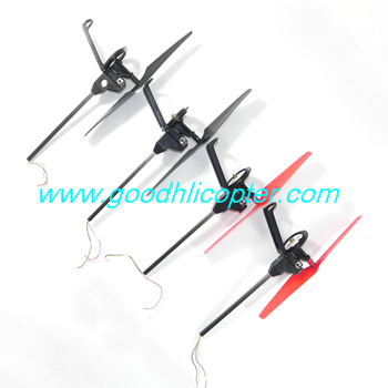 Wltoys Q212 Q212G Q212GN Q212K Q212KN quadcopter parts Side bar + Motor set + Blades (4pcs)
