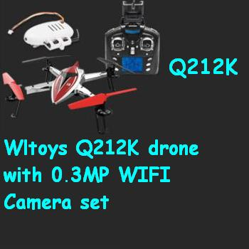 Wltoys Q212K drone with 0.3MP WIFI Camera