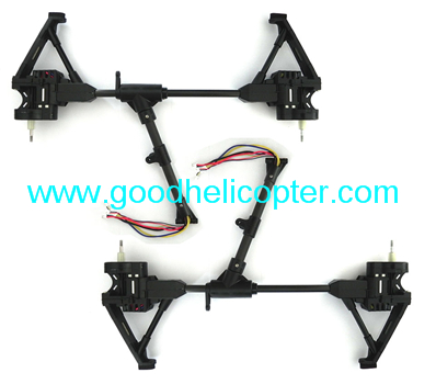 Wltoys Q333 Q333-A Q333-B Q333-C quadcopter drone parts Left & Right side bar with motor set
