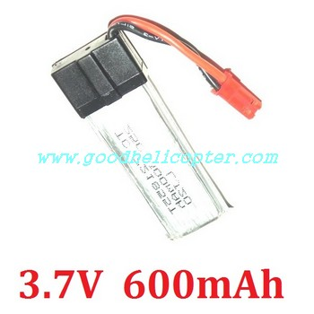wltoys-v959 quad copter battery (3.7V 600mAh)