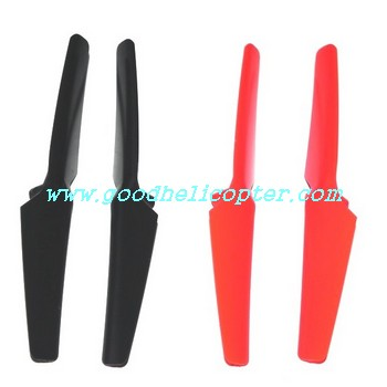wltoys-v959 quad copter Blades [Red color (A + B) + Black color (A + B)]