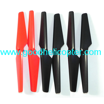 Wltoys V323 Skywalker UFO parts Blades (2pcs red + 4pcs black)