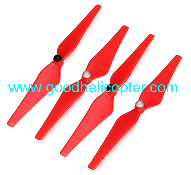 Wltoys V393 2.4H 4CH Brushless motor Quadcopter parts Blades (4pcs red)