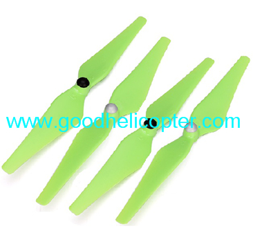 Wltoys V393 2.4H 4CH Brushless motor Quadcopter parts Blades (4pcs green)
