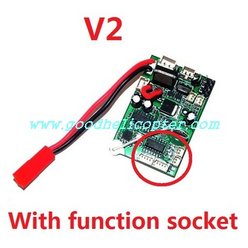 wltoys-v912 helicopter parts pcb board with function socket (V2)