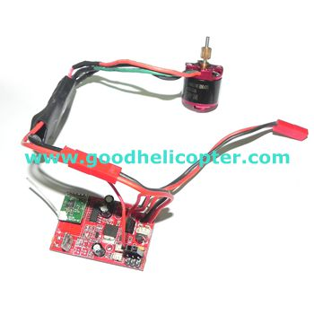 wltoys-v913 helicopter parts Upgrade brushless main motor + ESC + PCB Board (assembled)