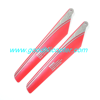 wltoys-v915-jjrc-v915-lama-helicopter parts Main blades (red)