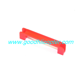jjrc-v915-wltoys-v915-lama-helicopter parts Fixed set bar for SERVO (red)