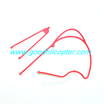 jjrc-v915-wltoys-v915-lama-helicopter parts Connecting support line (red)