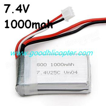 jjrc-v915-wltoys-v915-lama-helicopter parts Upgrade battery 7.4V 1000mah