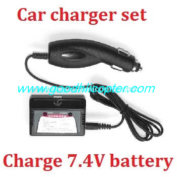 jjrc-v915-wltoys-v915-lama-helicopter parts Car charger + balance charger box for 7.4V battery