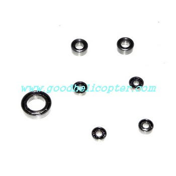 wltoys-v922 helicopter parts bearing set (1pc big + 2pcs middle + 4pcs small)