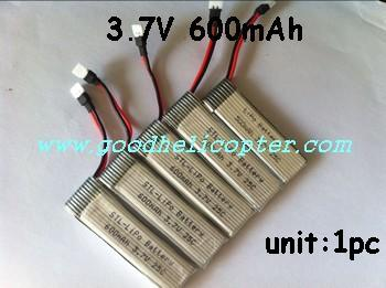 wltoys-v930 power star X2 helicopter parts 1pc upgrade battery 3.7V 600mAh (9128 plug)