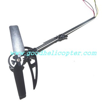 ZR-Z102 helicopter parts tail big boom + tail motor + tail motor deck + tail blade + tail light + tail decoration set