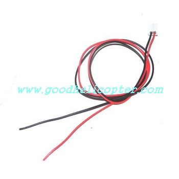 ZR-Z102 helicopter parts wire plug for tail motor
